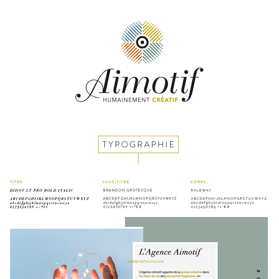 Projet pro Aimotif-magalie Halley